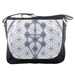 Tree Of Life Flower Of Life Stage Messenger Bags