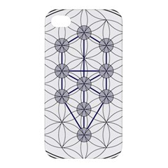 Tree Of Life Flower Of Life Stage Apple iPhone 4/4S Premium Hardshell Case