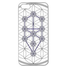 Tree Of Life Flower Of Life Stage Apple Seamless iPhone 5 Case (Clear)