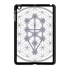 Tree Of Life Flower Of Life Stage Apple iPad Mini Case (Black)