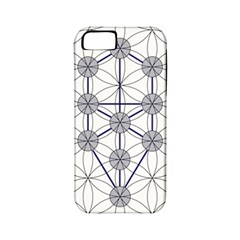 Tree Of Life Flower Of Life Stage Apple iPhone 5 Classic Hardshell Case (PC+Silicone)