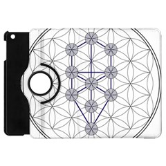 Tree Of Life Flower Of Life Stage Apple iPad Mini Flip 360 Case