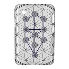 Tree Of Life Flower Of Life Stage Samsung Galaxy Tab 2 (7 ) P3100 Hardshell Case