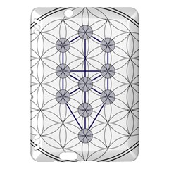 Tree Of Life Flower Of Life Stage Kindle Fire HDX Hardshell Case