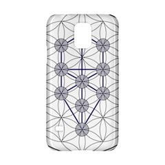 Tree Of Life Flower Of Life Stage Samsung Galaxy S5 Hardshell Case