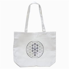 Tree Of Life Flower Of Life Stage Tote Bag (White)
