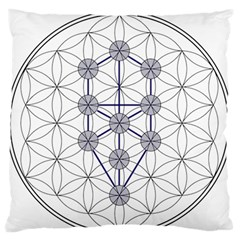 Tree Of Life Flower Of Life Stage Standard Flano Cushion Case (Two Sides)