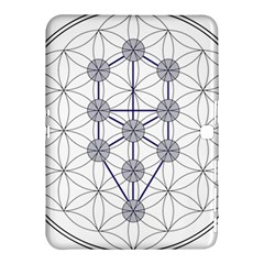 Tree Of Life Flower Of Life Stage Samsung Galaxy Tab 4 (10.1 ) Hardshell Case