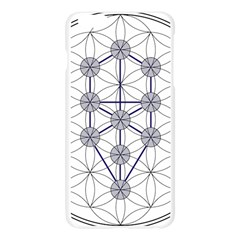 Tree Of Life Flower Of Life Stage Apple Seamless iPhone 6 Plus/6S Plus Case (Transparent)