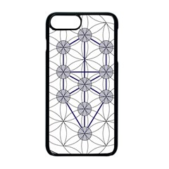 Tree Of Life Flower Of Life Stage Apple iPhone 7 Plus Seamless Case (Black)