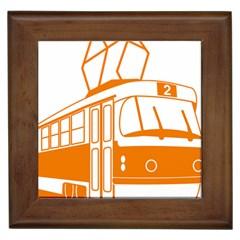 Tramway Transportation Electric Framed Tiles