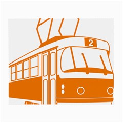 Tramway Transportation Electric Small Glasses Cloth