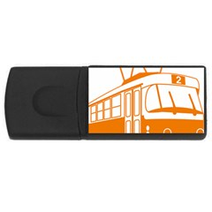 Tramway Transportation Electric USB Flash Drive Rectangular (4 GB)