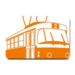 Tramway Transportation Electric Small Doormat
