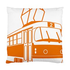 Tramway Transportation Electric Standard Cushion Case (Two Sides)
