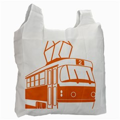 Tramway Transportation Electric Recycle Bag (Two Side)