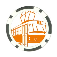 Tramway Transportation Electric Poker Chip Card Guards (10 pack)