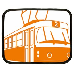 Tramway Transportation Electric Netbook Case (XL)