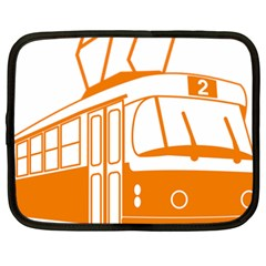 Tramway Transportation Electric Netbook Case (XXL)
