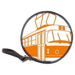 Tramway Transportation Electric Classic 20-CD Wallets