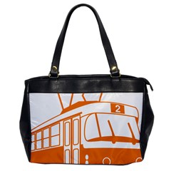 Tramway Transportation Electric Office Handbags