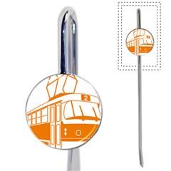 Tramway Transportation Electric Book Mark