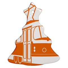 Tramway Transportation Electric Ornament (Christmas Tree)