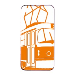 Tramway Transportation Electric Apple iPhone 4/4s Seamless Case (Black)