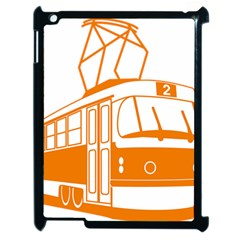 Tramway Transportation Electric Apple iPad 2 Case (Black)