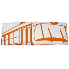 Tramway Transportation Electric Body Pillow Case Dakimakura (Two Sides)