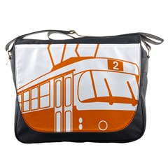 Tramway Transportation Electric Messenger Bags