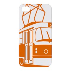 Tramway Transportation Electric Apple iPhone 4/4S Premium Hardshell Case