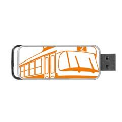 Tramway Transportation Electric Portable USB Flash (One Side)