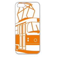Tramway Transportation Electric Apple Seamless iPhone 5 Case (Clear)