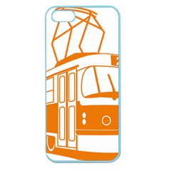 Tramway Transportation Electric Apple Seamless iPhone 5 Case (Color)