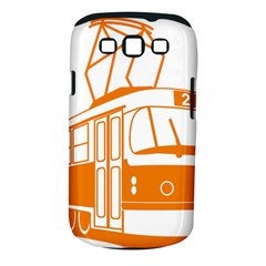 Tramway Transportation Electric Samsung Galaxy S III Classic Hardshell Case (PC+Silicone)