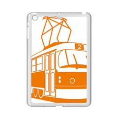 Tramway Transportation Electric iPad Mini 2 Enamel Coated Cases