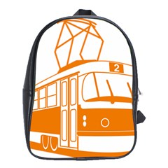 Tramway Transportation Electric School Bags (XL)
