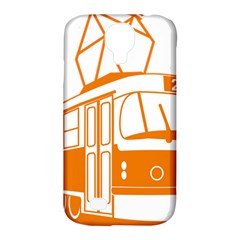 Tramway Transportation Electric Samsung Galaxy S4 Classic Hardshell Case (PC+Silicone)
