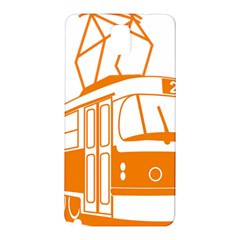 Tramway Transportation Electric Samsung Galaxy Note 3 N9005 Hardshell Back Case
