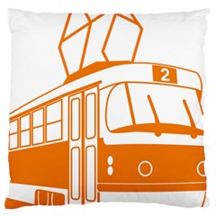 Tramway Transportation Electric Standard Flano Cushion Case (One Side)
