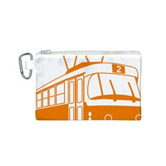 Tramway Transportation Electric Canvas Cosmetic Bag (S)