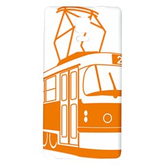 Tramway Transportation Electric Galaxy Note 4 Back Case