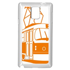 Tramway Transportation Electric Samsung Galaxy Note 4 Case (White)