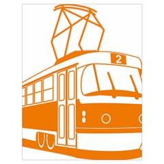 Tramway Transportation Electric Drawstring Bag (Large)