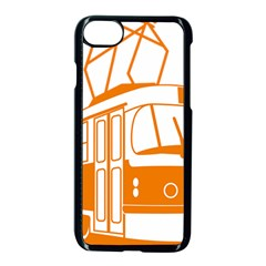 Tramway Transportation Electric Apple iPhone 7 Seamless Case (Black)