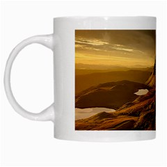 Scotland Landscape Scenic Mountains White Mugs