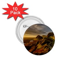 Scotland Landscape Scenic Mountains 1.75  Buttons (10 pack)