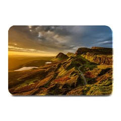 Scotland Landscape Scenic Mountains Plate Mats
