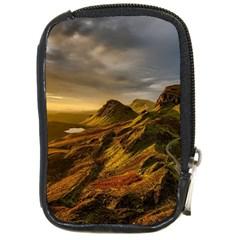 Scotland Landscape Scenic Mountains Compact Camera Cases